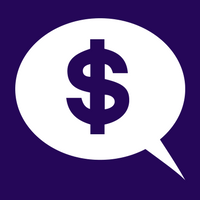 Dollar icon in speech bubble