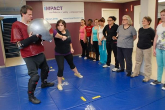 IMPACT self-defense workshop