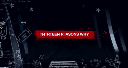 Screenshot of 13 Reasons Why title sequence