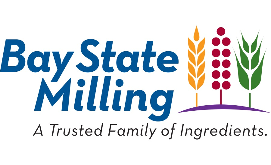 Bay State Milling logo (show three plants and text: A Trusted Family of Ingredients)